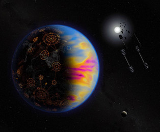 NASA suggests looking for signs of life on polluted planets