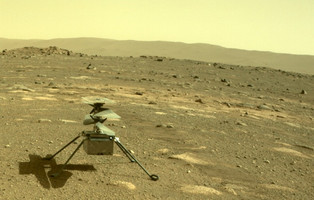 "Helicopter ""Ingenuity"" successfully survives the first Martian night offline"