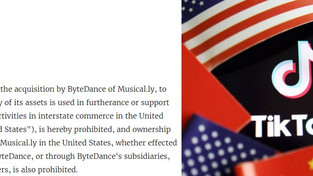 The us administration has banned a deal to buy ByteDance a music service Musical.ly