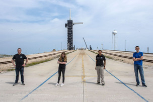 SpaceX presented the crew and appearance of the first civilian mission Inspiration4