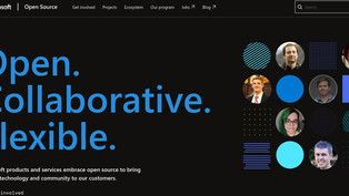 Microsoft has launched a portal about the company's open-source projects — opensource.microsoft.com