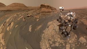 NASA's Curiosity Rover took a stunning selfie