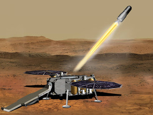 NASA wins contract with Northrop Grumman Systems to deliver soil samples from Mars