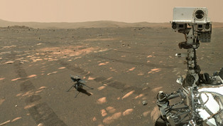 "Mars rover ""Perseverance"" took a selfie with the helicopter ""Ingenuity"""