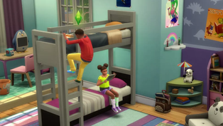 The Sims 4 Provides the community with the Bunkbeds They Requested