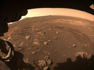 Perseverance Takes a Test Drive on the Surface of Mars