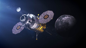NASA has postponed contracts for further funding of lunar landing modules