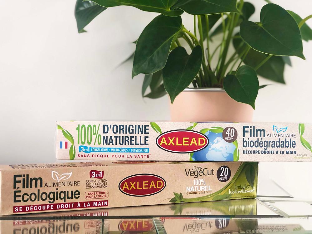 Film alimentaire écologique biodégradable compostable