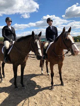 Some of our Boarders at a Show