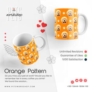 Orange Pattern Design