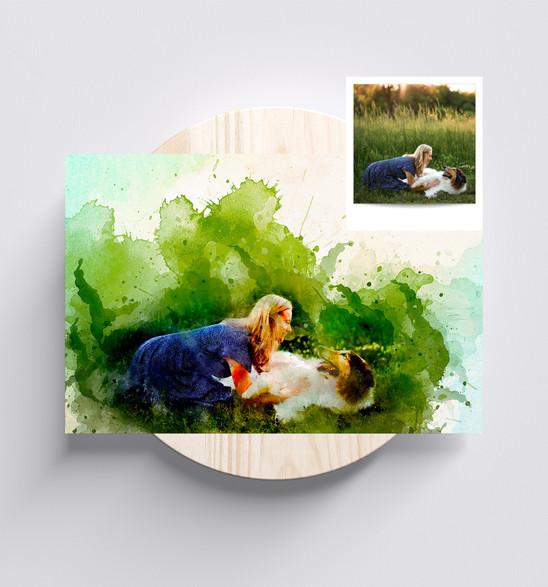 Watercolor-6 Design