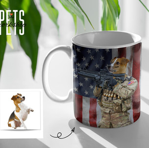 American Soldier Dog