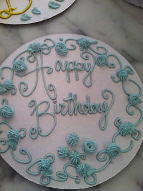 You need something written in icing? I got you.
