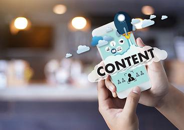 CONTENT marketing Data Blogging Media Pu