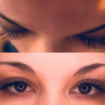 Eyelash extensions model