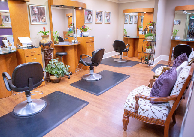 Hair stylist stations