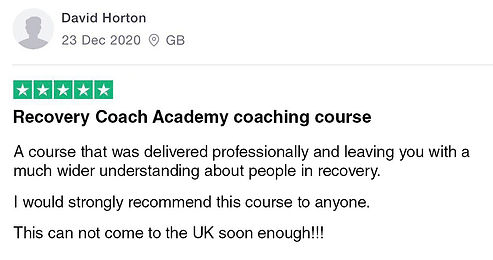 David-recommends-Recovery-Coach-Academy.