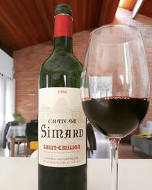 Um Bordeaux de 1996...será que estava bom?