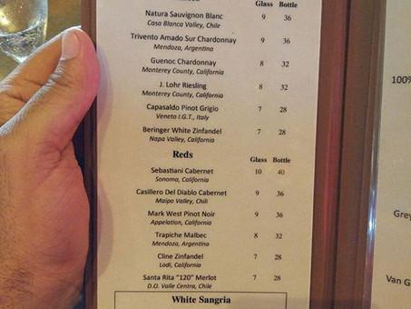 Bebendo vinho nos parques de Orlando (parte 1)