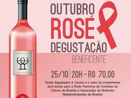 Degustação Beneficente do Outubro Rosa
