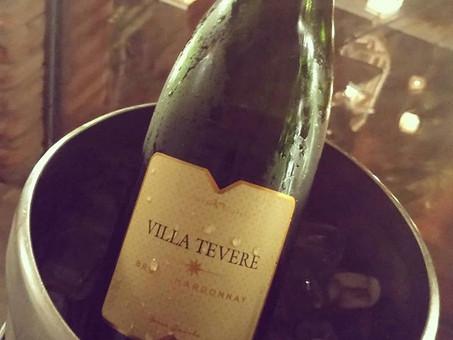 Restaurante Villa Tevere e seus vinhos da casa
