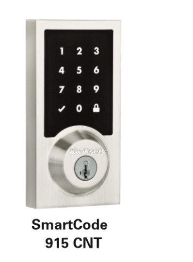 Kwikset SmartCode 915 CNT Electronic Lock