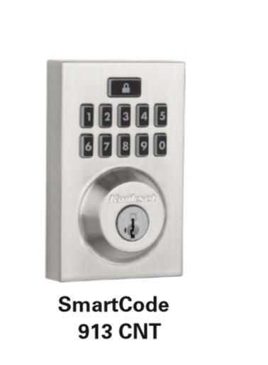 Kwikset SmartCode 913 CNT Electronic Lock
