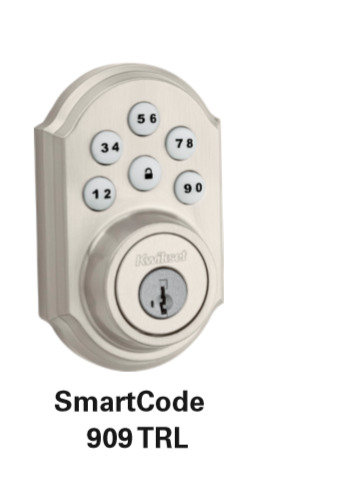 Kwikset SmartCode 909 TRL Electronic Lock