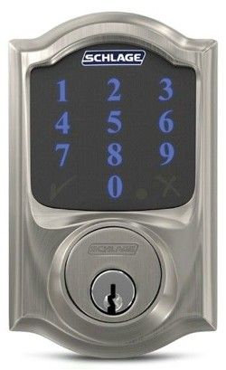 Schlage Connect with Alarm Electronic Lock