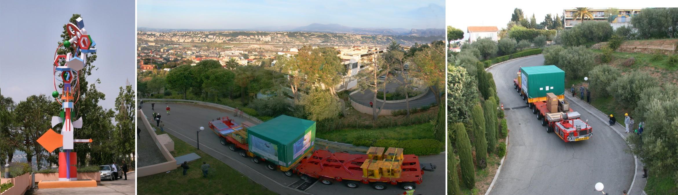 CAL equipments arrival 04/14