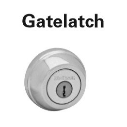Kwikset Gatelatch Deadbolt