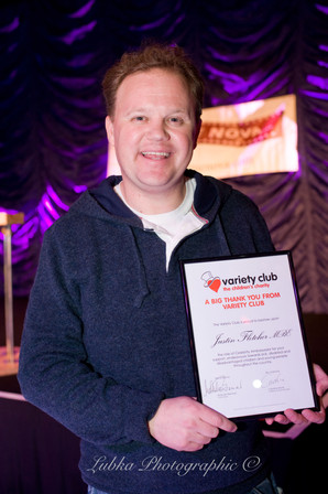 Variety, the Children's Charity | Justin Fletcher, MBE (Mr.Tumble)