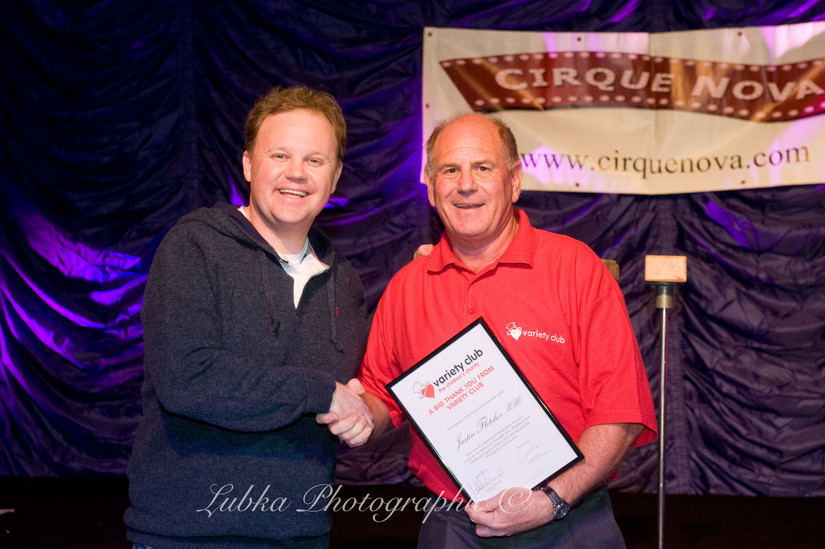 Variety, the Children's Charity | Justin Fletcher, MBE (Mr.Tumble)