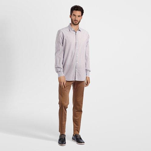 Striped shirt dressed