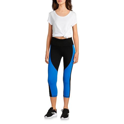 Avia Women's Core Flex Tech High Rise Colorblock Compression Legging