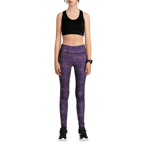 N.Y.L. Sport Women's Active Spacedye Performance Full Length Legging
