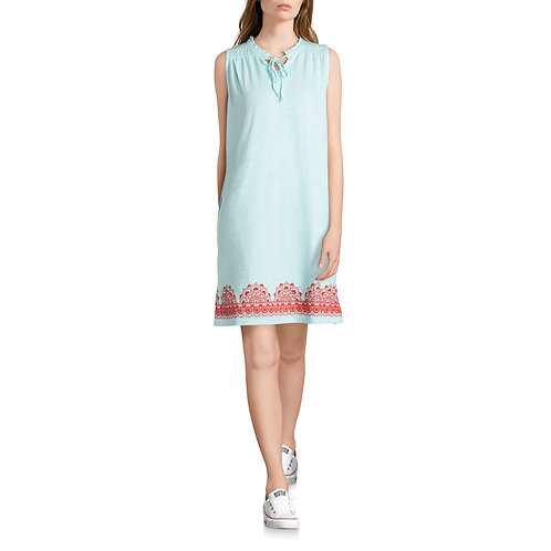 Women's Printed Hem Knit Dress