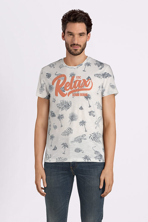 Relax printed t-shirt