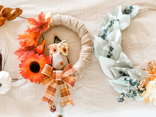 Easy Fall Wreaths You Can DIY