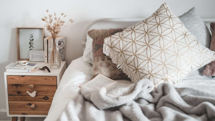 white-and-brown-throw-pillow-on-white-be
