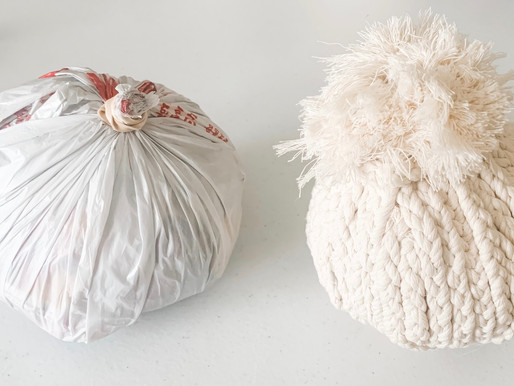 Easy Starter Base for Fabric Pumpkins