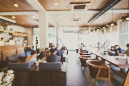 background-blurry-restaurant-shop-interi