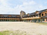 【見た目は美術館】「馬見原小学校」は学校とは思えな程の美しい建物だった!