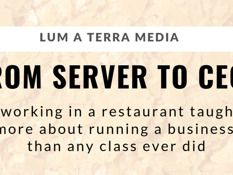 From Server to CEO