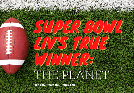 The Real Winner of Super Bowl LIV? The Planet!