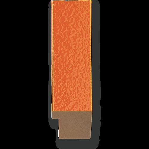 "1 1/4"" Glossy Orange Texture: K-751"