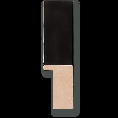 "1"" Glossy Black Pinstripe: K-765"