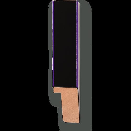 "3/4"" Metallic Purple Pinstripe: K-734"