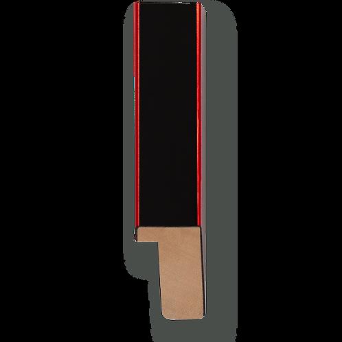 """3/4"""" Metallic Red Pinstripe: K-767"""
