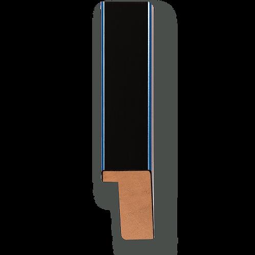 """3/4"""" Metallic Blue Pinstripe: K-766"""